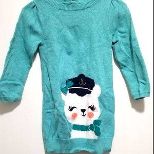 4/$20 Gymboree Long Sleeve Sweater Dress, Size 2T